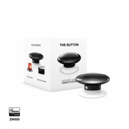 FIBARO The Button, tipka Črna FGPB-101-2