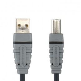 BANDRIDGE COMPUTER BCL4102 USB A M - USB B M kabel 2.0m - BANDRIDGE
