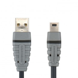 BANDRIDGE COMPUTER BCL4402 USB M - USB Mini M kabel 2m - BANDRIDGE