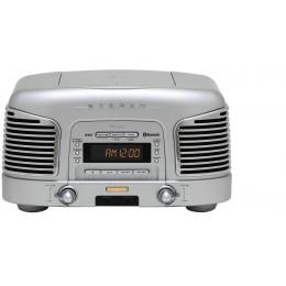 Teac SL-D930 (Srebrn) Radio/CD/Bluetooth 2.1 Retro Sistem - TEAC