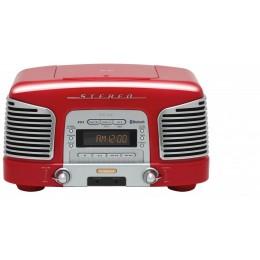 Teac SL-D930 (Rdeč) Radio/CD/Bluetooth 2.1 Retro Sistem - TEAC