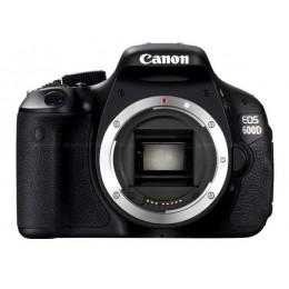 Digitalni fotoaparat Canon EOS 600D, ohišje