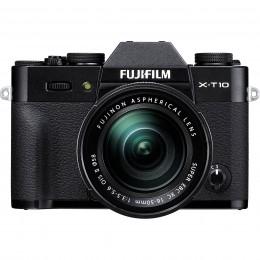 Digitalni fotoaparat Fujifilm FinePix X-T10 kit 16-50mm - črn
