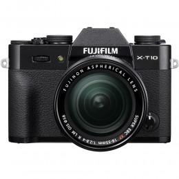 Digitalni fotoaparat Fujifilm FinePix X-T10 kit 18-55mm - črn