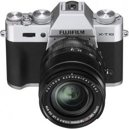 Digitalni fotoaparat Fujifilm FinePix X-T10 kit 18-55mm - srebrn