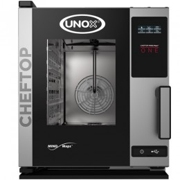 Električna parno konvekcijska pečica UNOX XECC-0523-EPR plus compact 5 GN 2/3
