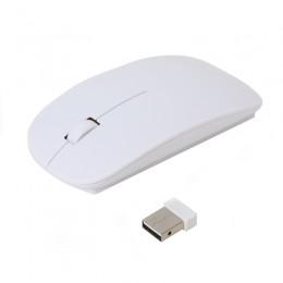 Optična brezžična miška OMEGA OM414, USB nano sprejemnik, 1000dpi, 3 tipke, bela