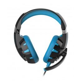 Gaming slušalke + mikrofon OMEGA VARR OVH5055BL HI-FI STEREO, z osvetlitvijo, modro/črne