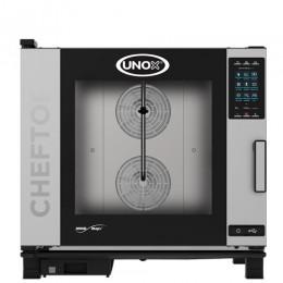 Plinska parno konvekcijska pečica UNOX XEVC-0621-GPR plus 6 GN 2/1