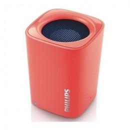 Prenosni Bluetooth zvočnik Philips  BT100 - rdeč