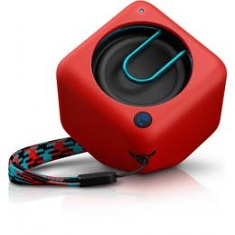 Prenosni Bluetooth zvočnik Philips BT1300 - rdeč
