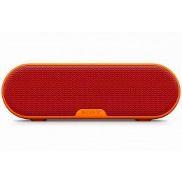 Prenosni Bluetooth zvočnik Sony SRSXB2R.EU8 - rdeč
