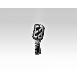Klasični mikrofon z vintage obliko