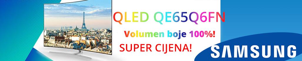 QLED TV SAMSUNG QE65Q6FN po super ceni!