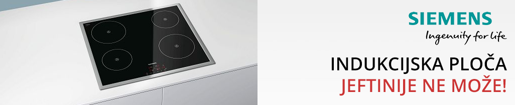 Indukcijska ploča Siemens jeftinije ne može!